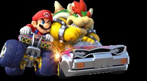 Mario and Bowser
