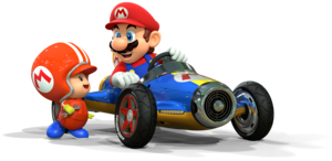 Mario and Toad Mechanic