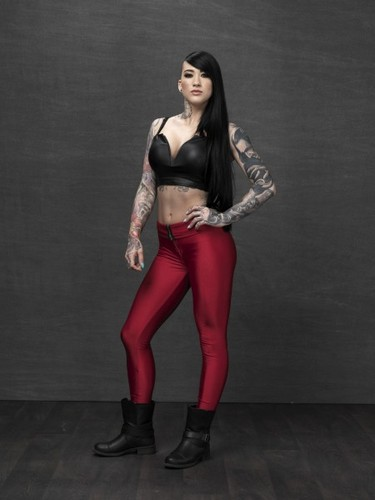 Ink Master wallpaper with a legging, a lingerie, and tights titled Marisa de LaRen | Season 6