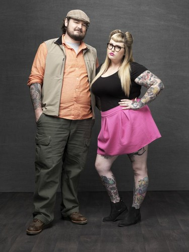 Ink Master wallpaper probably with a playsuit, a hip boot, and a topo, início entitled Matt O'Baugh vs. Katie McGowan | Season 6
