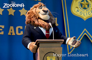 Mayor Lionheart - Zootopia