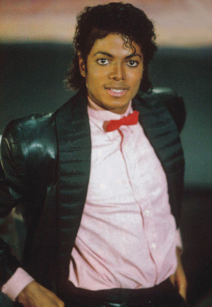 Michael Jackson - HQ Scan - Billie Jean Short Film Set