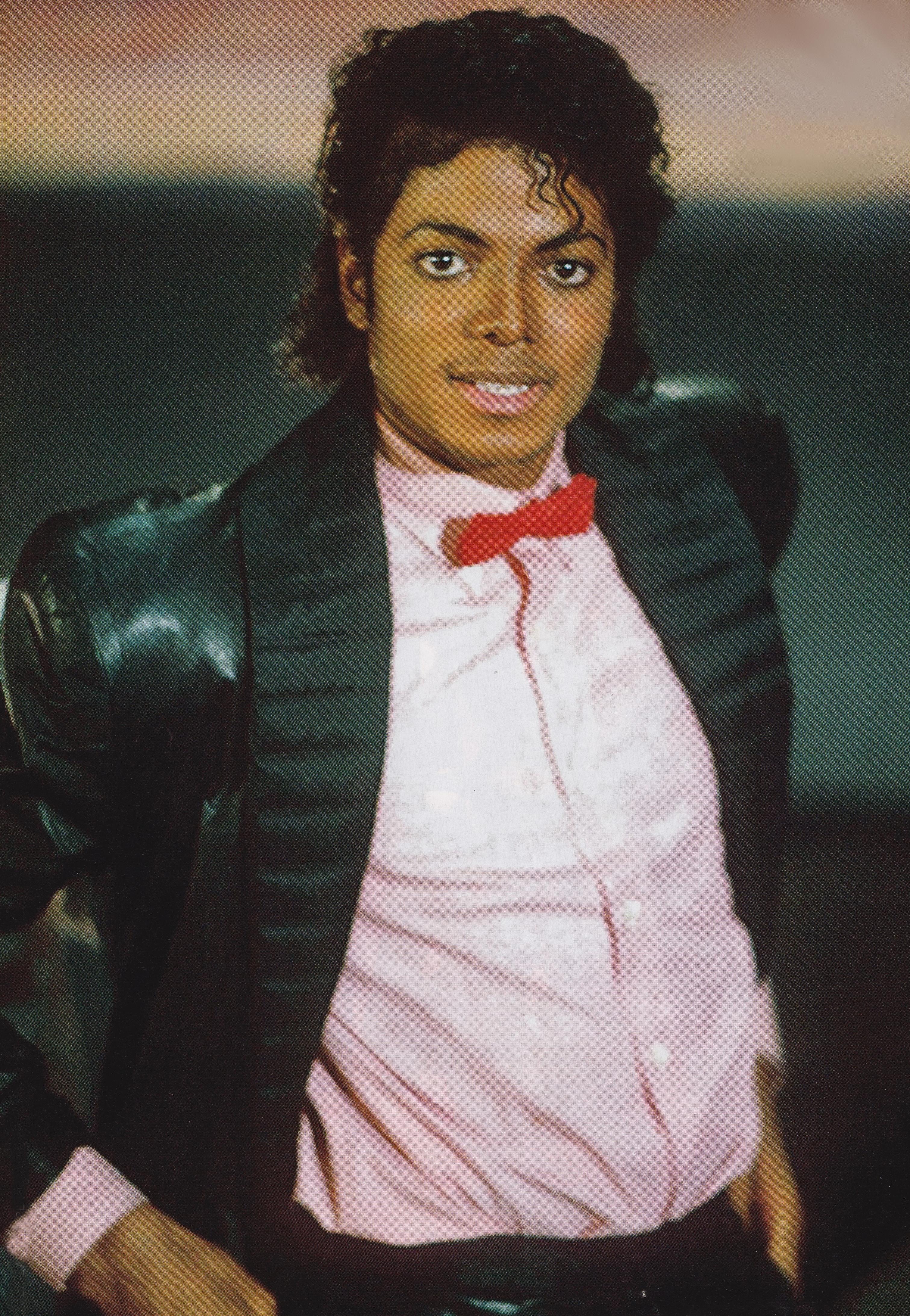 Michael Jackson - HQ Scan - Billie Jean Short Film Set