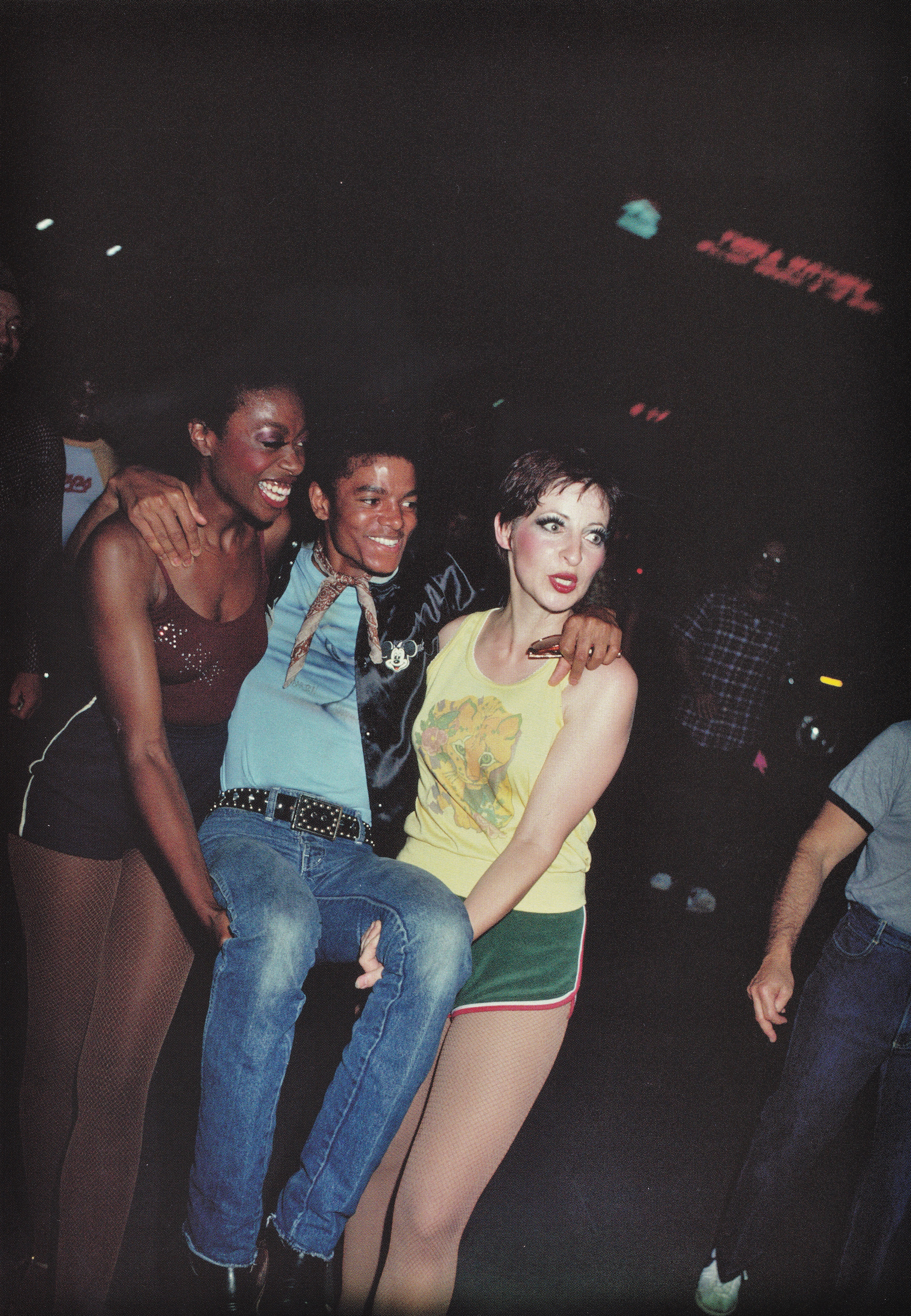 Michael Jackson - HQ Scan - Michael at a Circus? 1981
