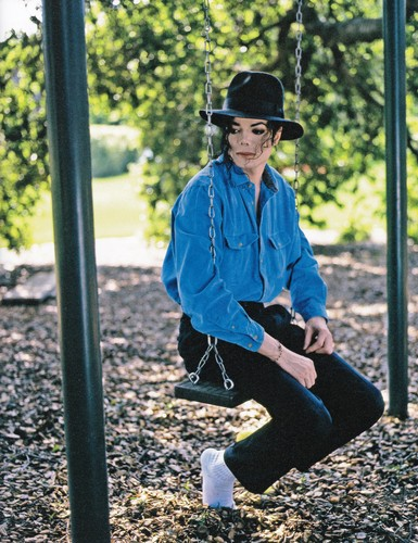 michael jackson wallpaper called Michael Jackson - HQ Scan - Neverland Photosession - Harry Benson (1993)