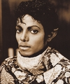 Michael Jackson - HQ Scan - On the set of Thriller - michael-jackson photo