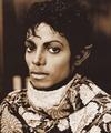 Michael Jackson - HQ Scan - On the set of Thriller - michael-jackson photo