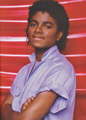 Michael Jackson - HQ Scan - Photosession oleh Bobby Holland '1980