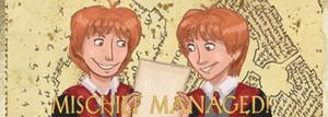 Mischief Managed - banner