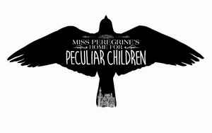 Miss Peregrine's nyumbani for Peculiar Children - Movie Logo karatasi la kupamba ukuta