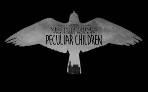 Miss Peregrine's accueil for Peculiar Children - Movie Logo fond d'écran
