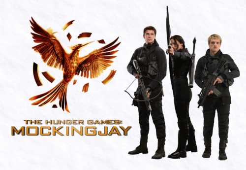 The Hunger Games wallpaper containing a green beret, fatigues, and a rifleman called Mockingjay pt.2