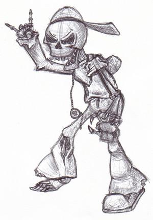 Modern Day Skeleton