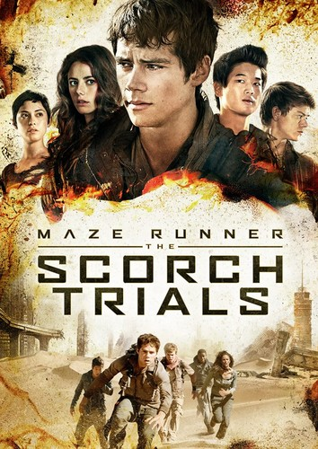 The Maze Runner 바탕화면 with 아니메 entitled New Scorch Trials posters