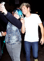 Niall leaving Cirque Le Soir - niall-horan photo