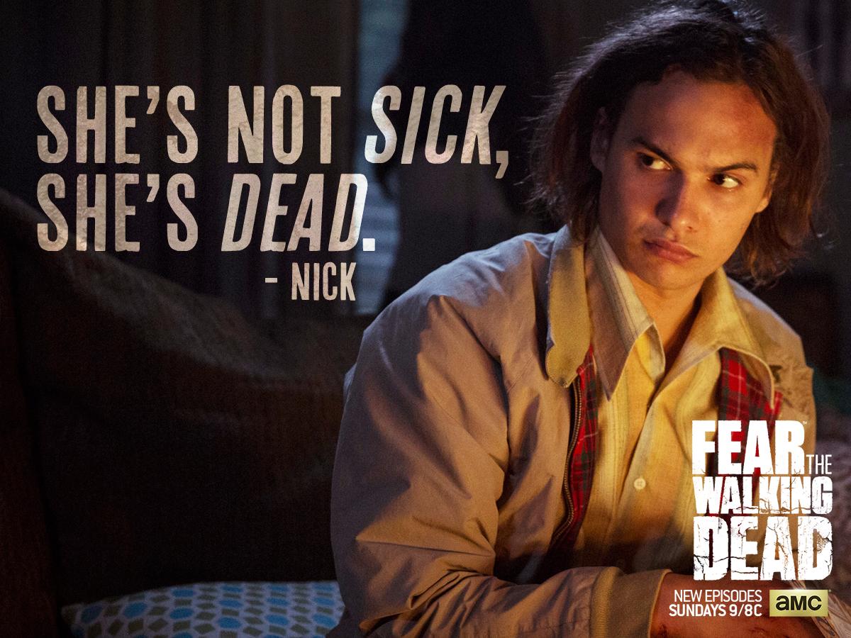 Nick Clark Fear The Walking Dead Wallpaper 38922573 Fanpop