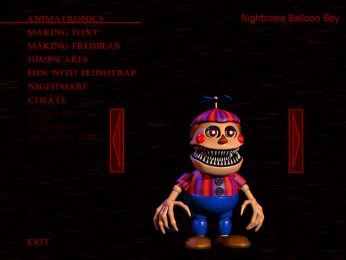Five Nights at Freddy's پیپر وال with عملی حکمت called Nightmare Balloon Boy