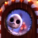 Nightmare Before krisimasi Peeking Jack