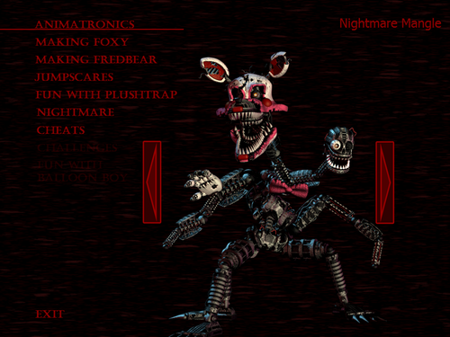Five Nights at Freddy's wallpaper probably containing anime titled Nightmare Mangle