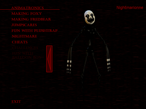 Five Nights at Freddy's 壁紙 probably containing アニメ called Nightmare marionette