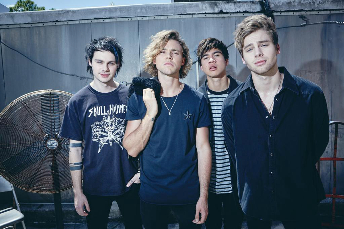 Notion Magazine 5 Seconds Of Summer Wallpaper 38902044