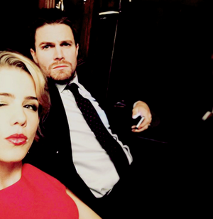 Olicity - Behind The Scenes