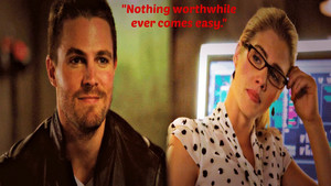 Oliver and Felicity 바탕화면