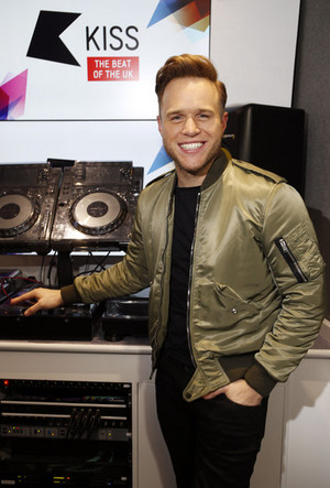 Olly Visits Kiss FM