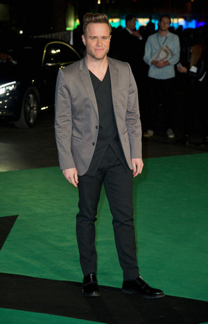 Olly at Jumpers For Goalposts premiere