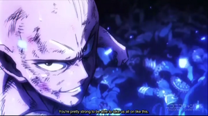 One schlagen, punsch Man - Saitama