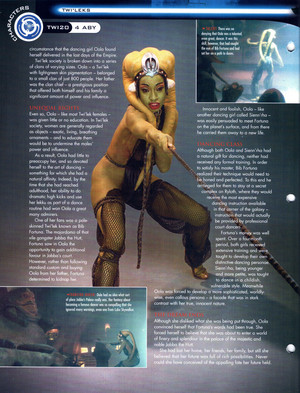Oola stella, star Wars Fact File Page 2