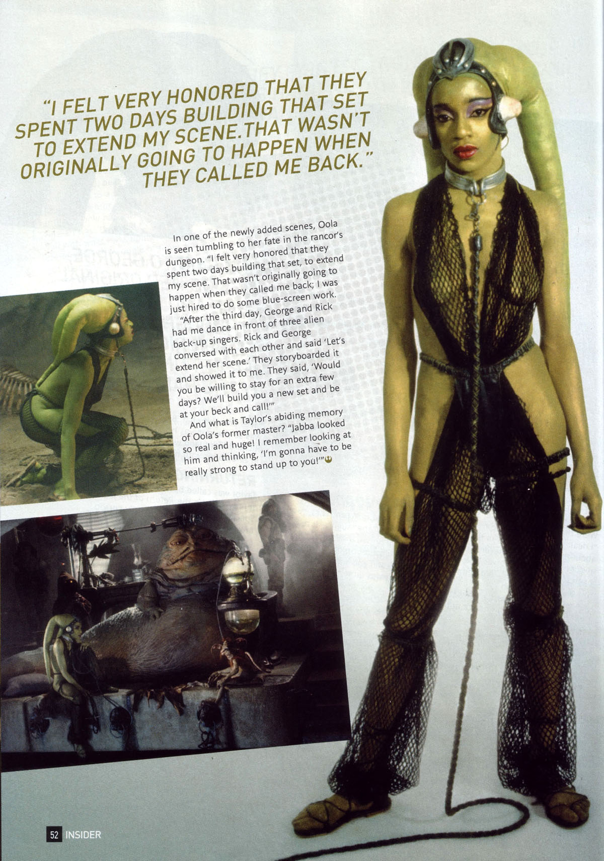 Oola तारा, स्टार Wars Insider 108 part 3
