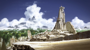 Origin: Spirits of the Past Scenery