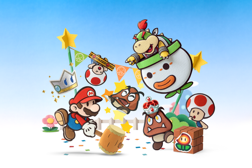 Mario Images Paper Mario Sticker Star Hd Wallpaper And Background