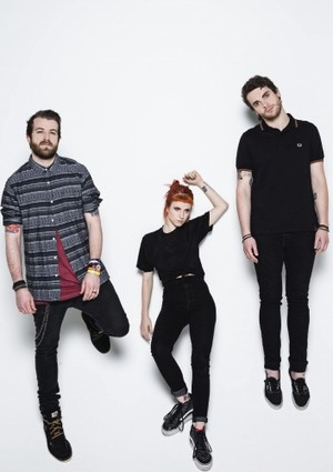 Paramore Rock Sound photoshoot