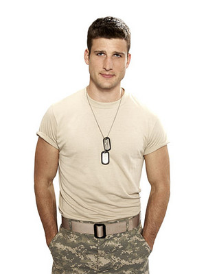 Parker Young as Randy heuvel in Enlisted