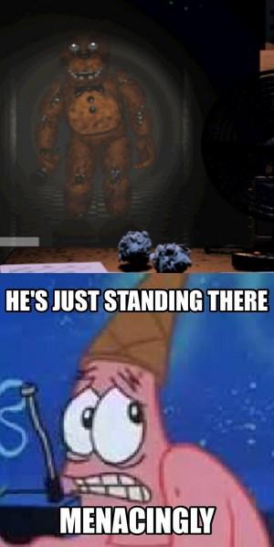 Patrick at FNAF