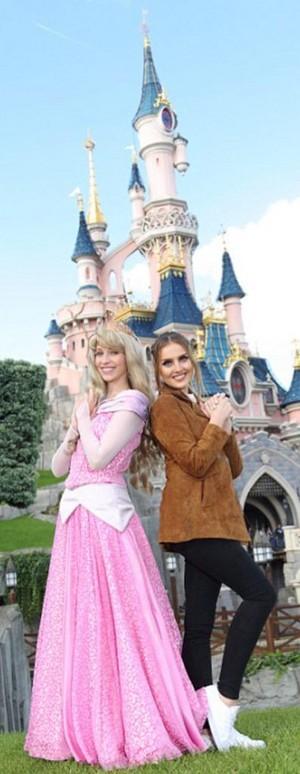 Perrie in Disneyland