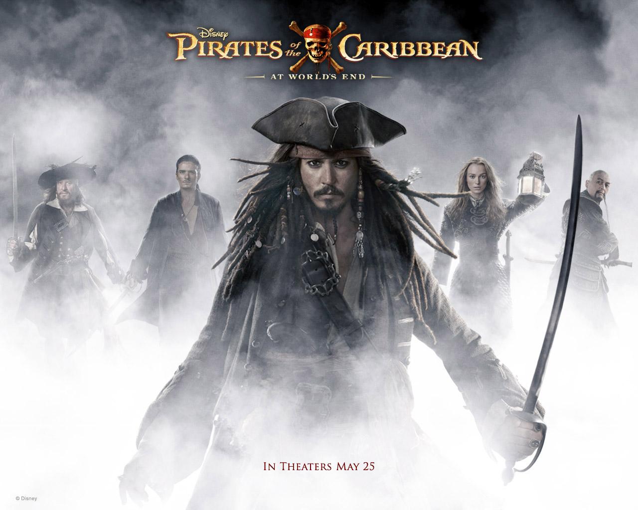 Pirates Of The Caribbean Piratas Del Caribe Fondo De