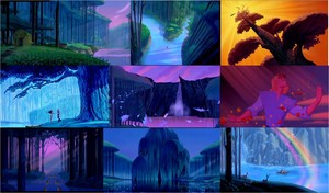 Pocahontas Landscape collage