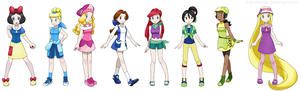 Pokemon Princesses 迪士尼