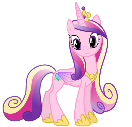 Princess Cadence vector picture