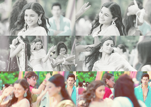 Queen Alia Bhatt in Student of the anno ( As Shanaya )