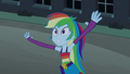 Rainbow Dash calls out to Spike EG - my-little-pony-friendship-is-magic photo