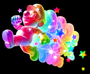 arco iris, arco-íris Mario