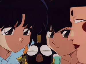 Ranma 1/2 OVA Akane, Nabiki, and the Monk