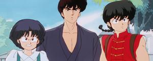 Ranma, Akane, and Kuno