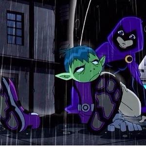 Raven worries about Beast Boy
