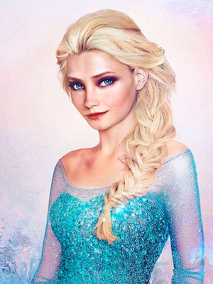 Real Life Disney Female Characters - Elsa