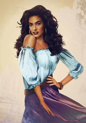 Real Life Disney Female Characters - Esmeralda